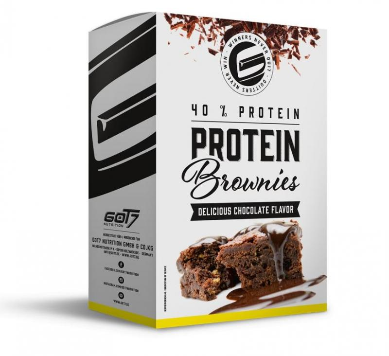 GOT7 Nutrition Protein Brownie Backmischung, 500g