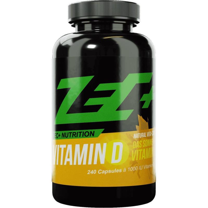 Zec+ Nutrition Vitamin D, 240 Kaps.