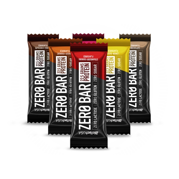 BioTech USA Zero Bar, 1 Riegel, 50g Chocolate Caramel