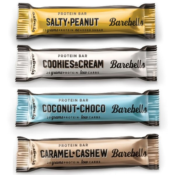 Barebells Barebells Protein Bar, 55g Hazelnut & Nougat