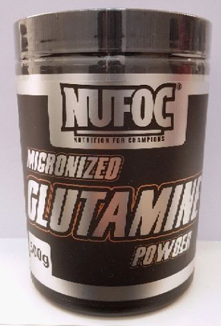 Nufoc Micronized Glutamine Powder (New), 500g