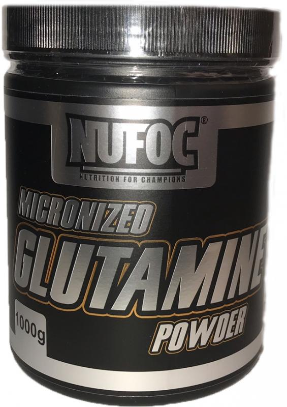 Nufoc Micronized Glutamine Powder (New), 1000g