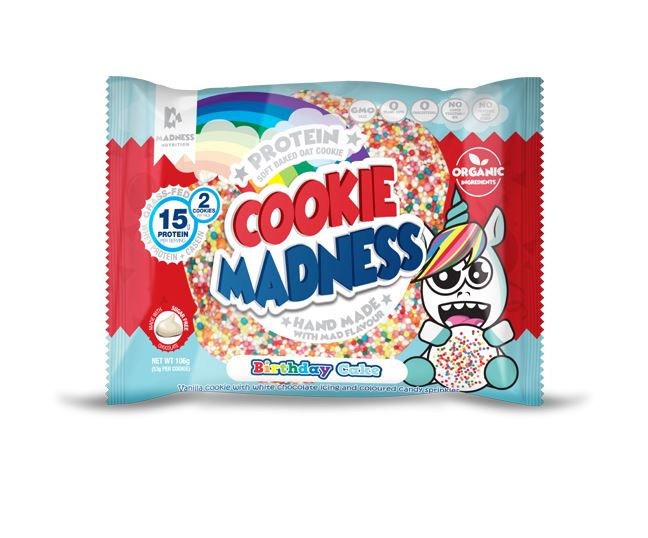 Madness Nutrition Cookie Madness, 106g