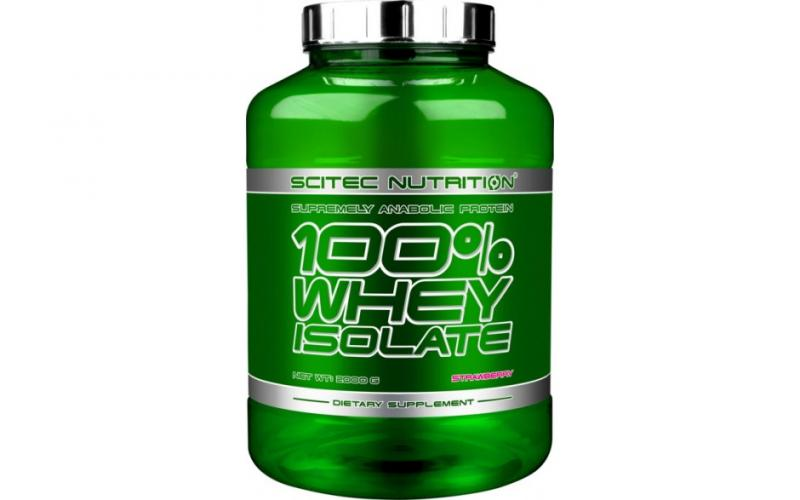 Scitec Nutrition 100% Whey Isolate, 2000g Chocolate Hazelnut