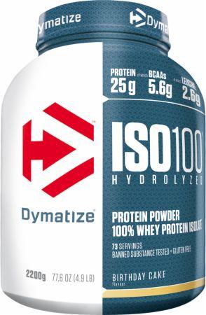 Dymatize ISO100 Hydrolyzed, 2200g