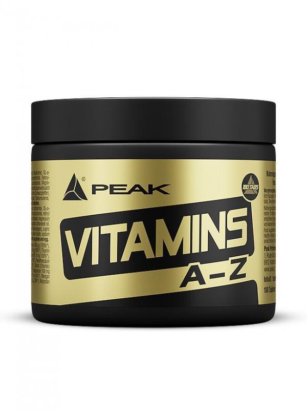 Peak Vitamins A-Z, 180 Tabl.