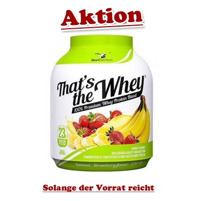 SportDefinition Thats the Whey, 2270g