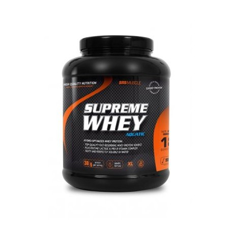 SRS Muscle Supreme Whey Aquatic, 1900g Melone