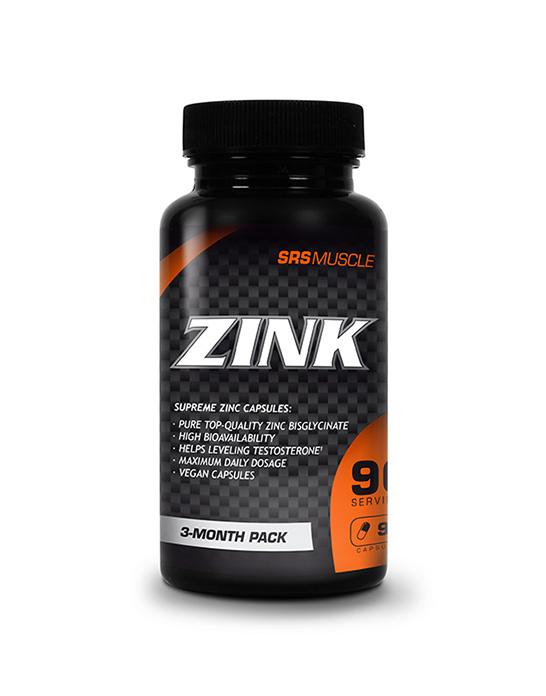 SRS Muscle Zink, 90 Kaps.