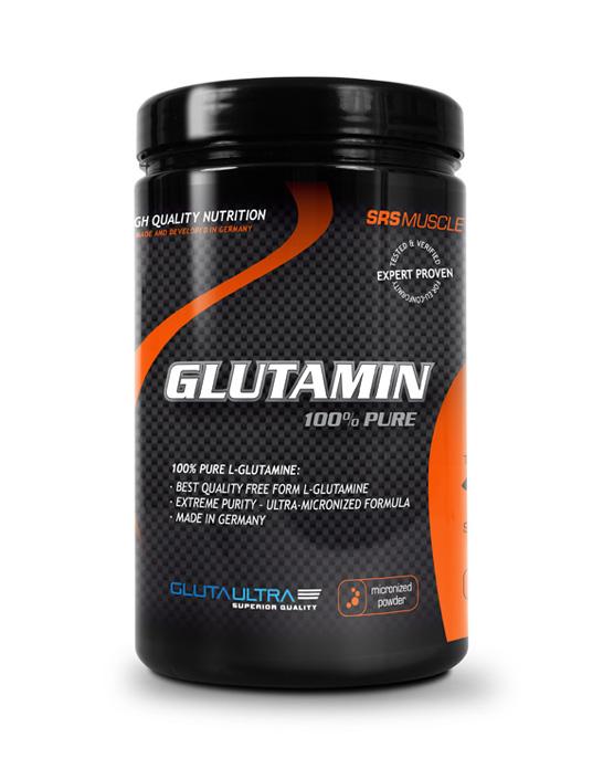 SRS Muscle Glutamin, 500g