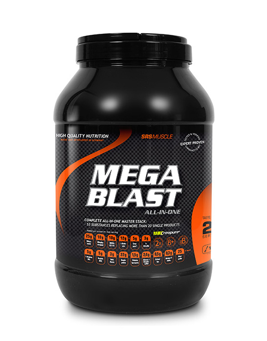 SRS Muscle Mega Blast, 1900g