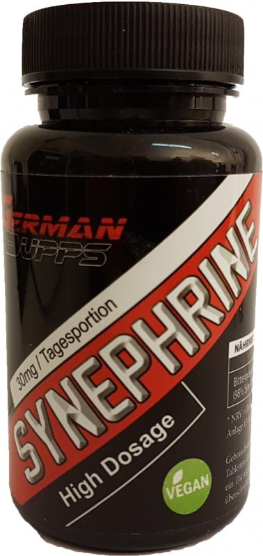 German Supps Synephrine, 90 Tabs.