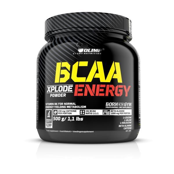 Olimp BCAA Xplode Energy, 500g