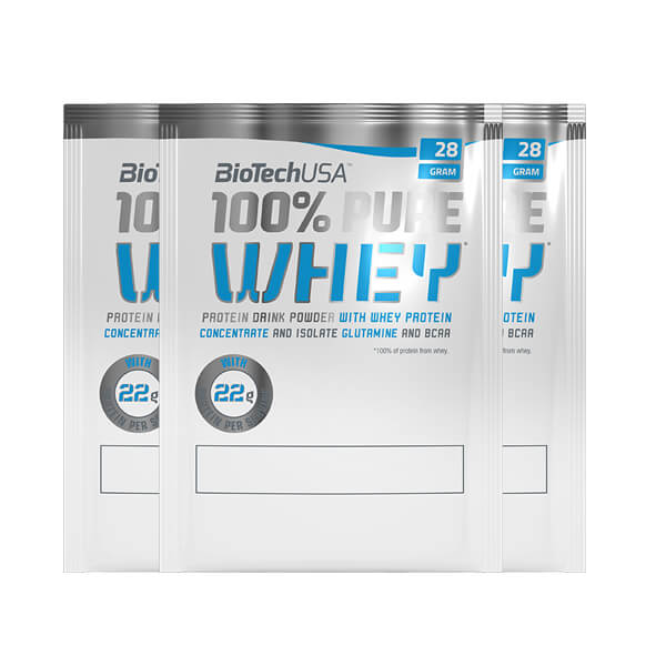 BioTech USA 100% Pure Whey, 28g Biscuit