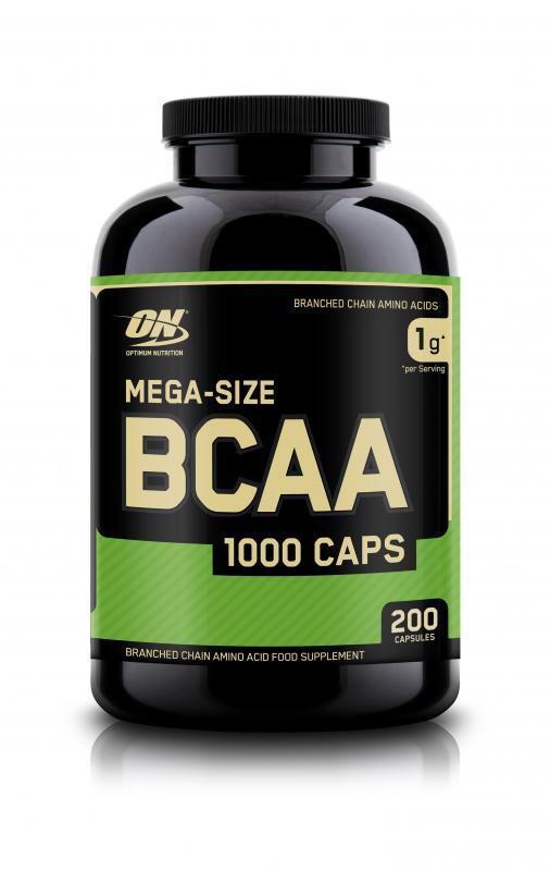 Optimum Nutrition BCAA 1000, 200 Kaps.