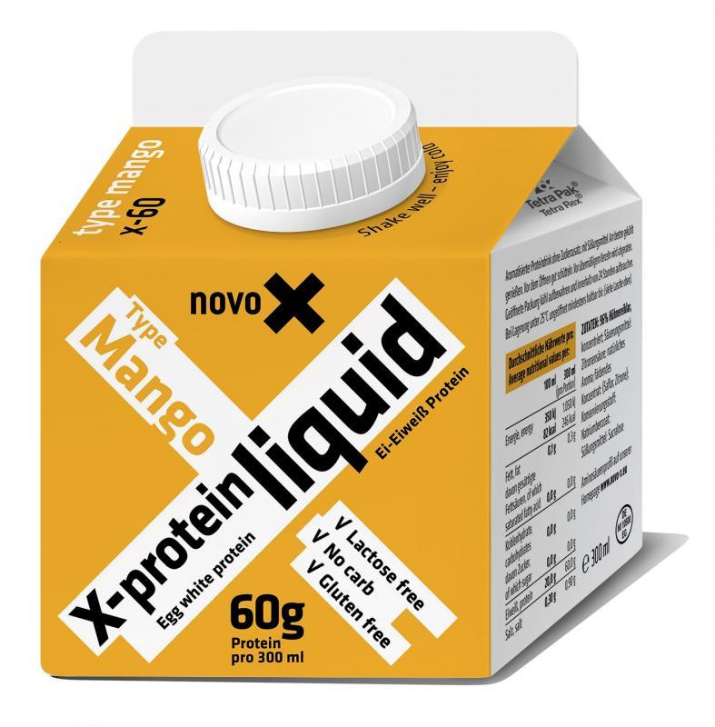 NovoX X-Liquid 60, 300ml Mango