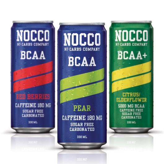 No Carbs Company Nocco BCAA, 330ml