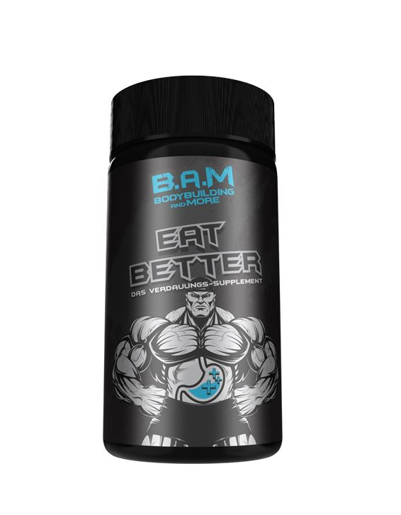 GN Laboratories B.A.M Eat Better, 60 Kaps.