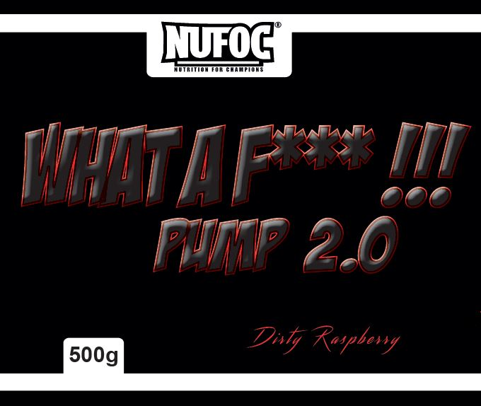 Nufoc What a f***ing Pump-Booster Xtreme, 400g