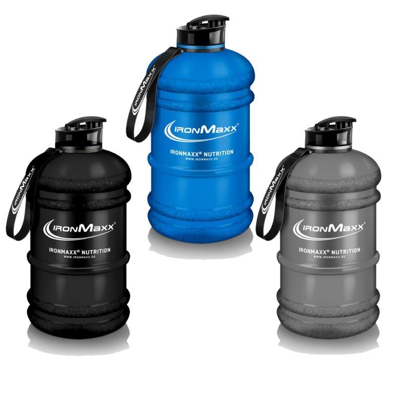 IronMaxx Water Gallon 2.2 Liter Grau Matt