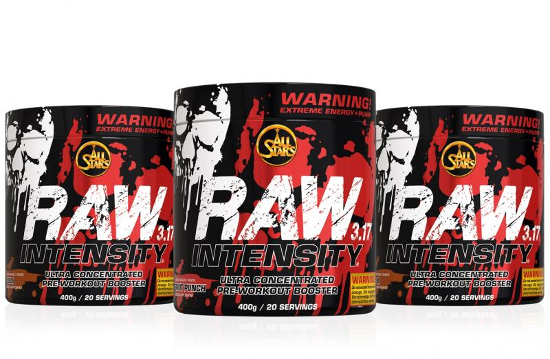 All Stars Raw Intensity 3.17, 400g