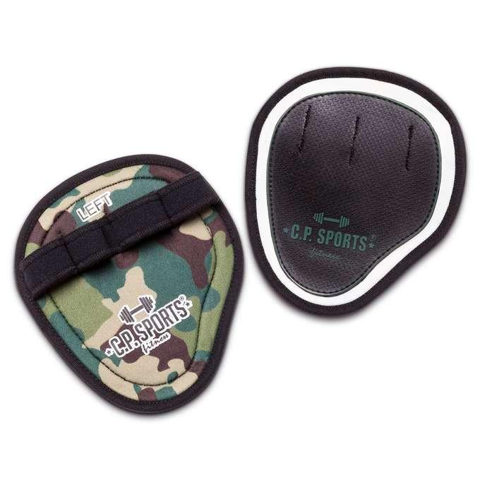 C.P. Sports Power Grips Pro Camo Olive