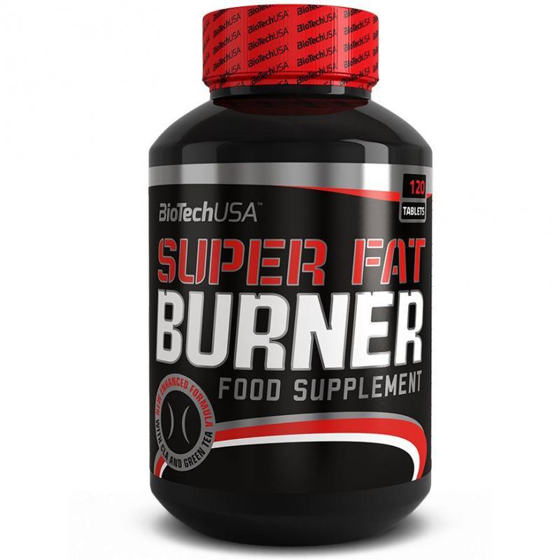 BioTech USA Super Fat Burner, 120 Tabl.