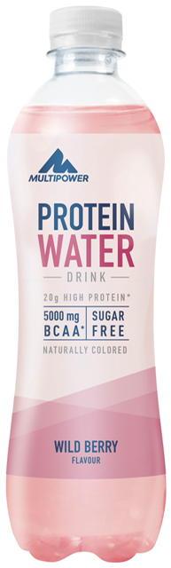 Multipower Protein Water, 500ml Wild Berry