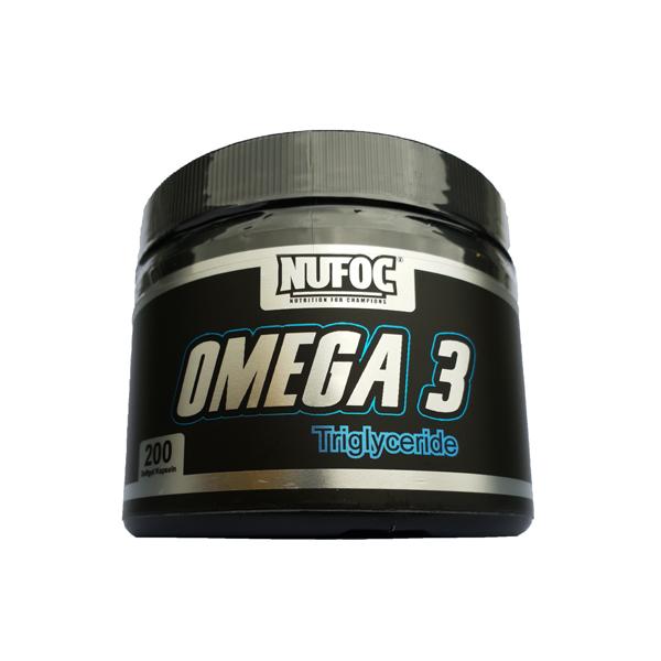 Nufoc Omega 3 Triglyceride, 200 Soft.Kaps.