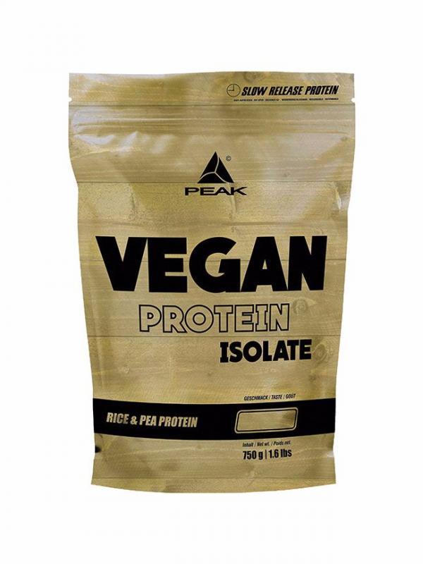 Peak Vegan Protein Isolate, 750g Neutral