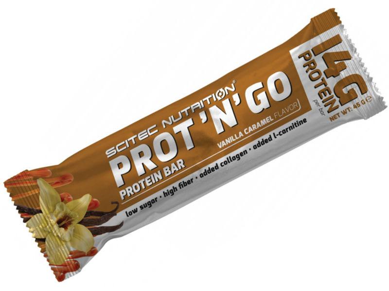 Scitec Nutrition Prot N Go, 1 Riegel, 45g
