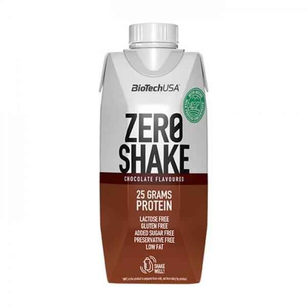 BioTech USA Zero Shake, 330ml Chocolate