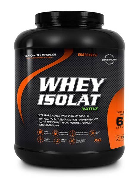 SRS Muscle Whey Isolat Native, 1900g