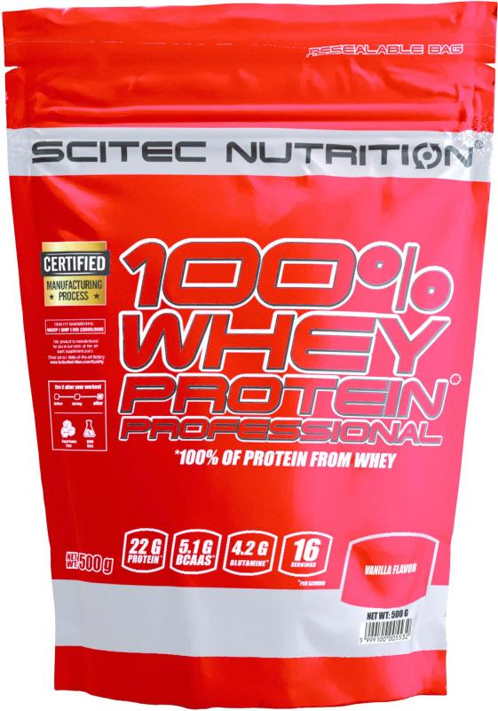 Scitec Nutrition 100% Whey Protein Professional, 500g