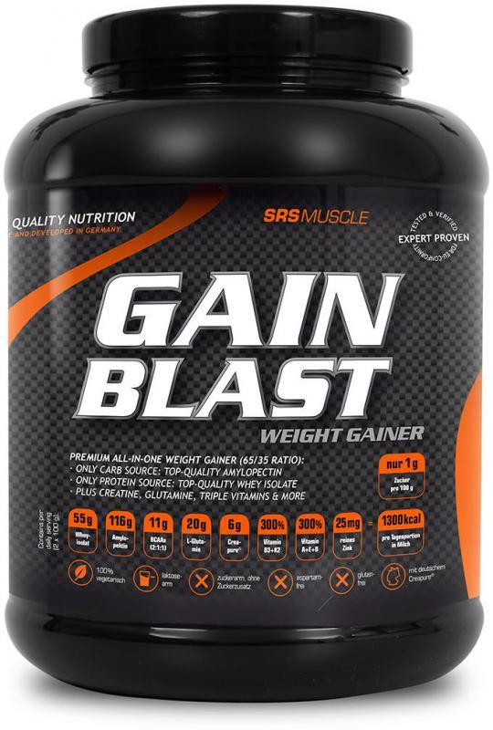SRS Muscle Supreme Gain Blast, 1400g
