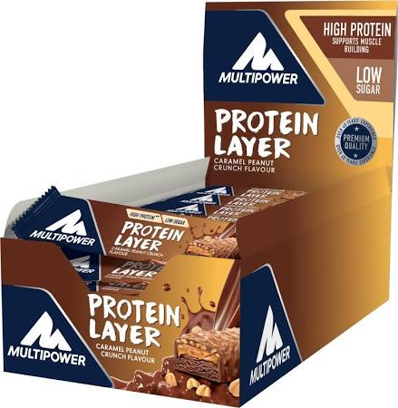 Multipower Protein Layer, 18x50g, 1 Karton (MHD Ware)