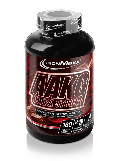 IronMaxx AAKG Ultra Strong, 180 Tabl.
