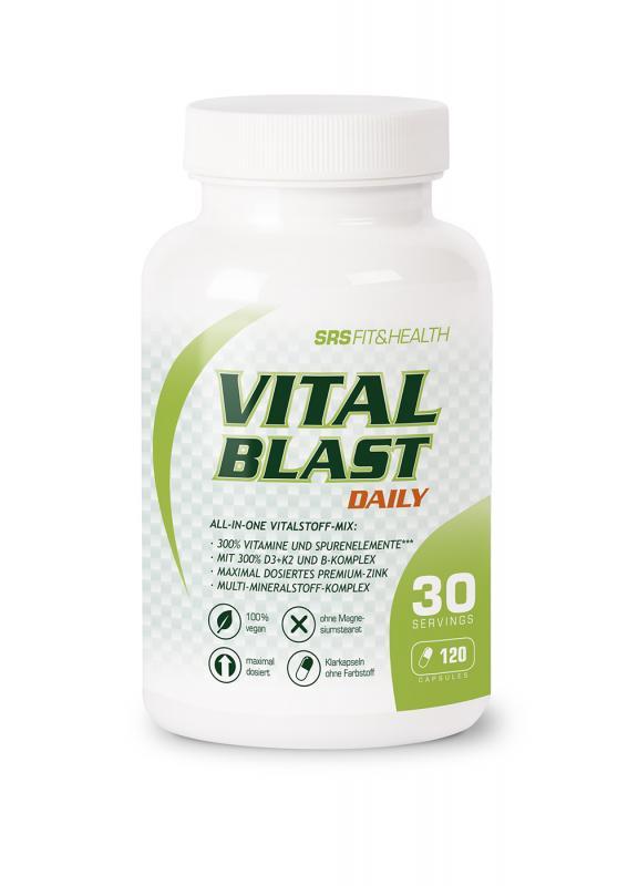 SRS Muscle Vital Blast, 120 Kaps.