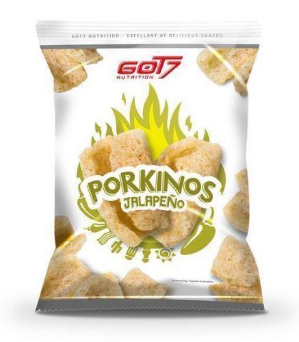 GOT7 Nutrition Porkinos Jalapeno, 75g (MHD: 30/11/19)