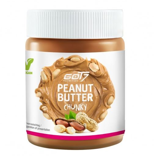 GOT7 Nutrition Peanut Butter, 500g Chunky
