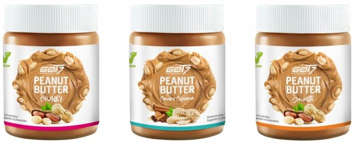 GOT7 Nutrition Peanut Butter, 500g