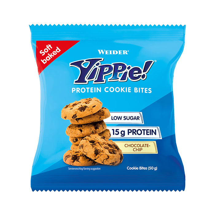 Weider YIPPIE Protein Cookie Bites, 1 Cookie, 50g