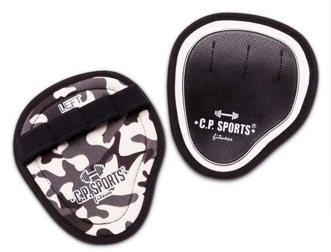 C.P. Sports Power Grips Pro Camo White