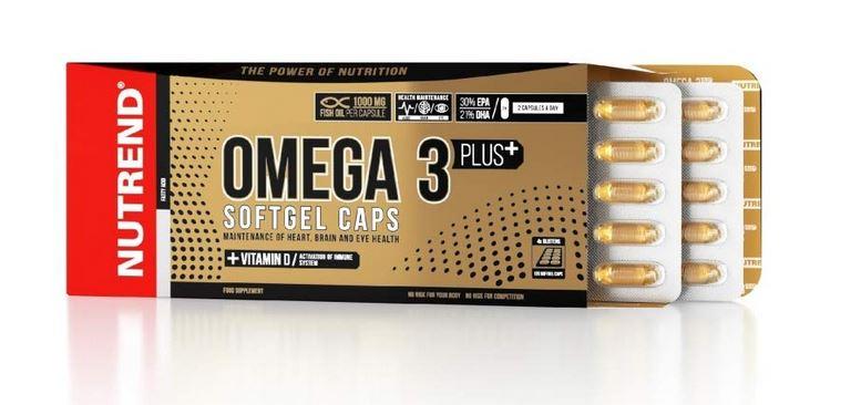 Nutrend Omega 3 Plus, 120 Kaps.