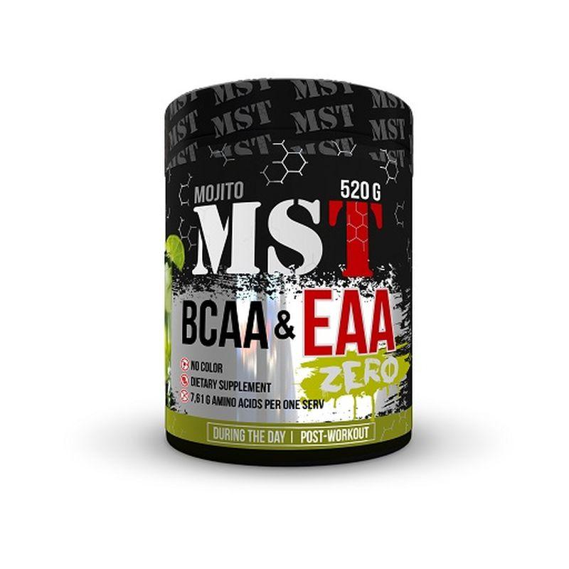 MST BCAA & EAA Zero, 520g Blackcurant
