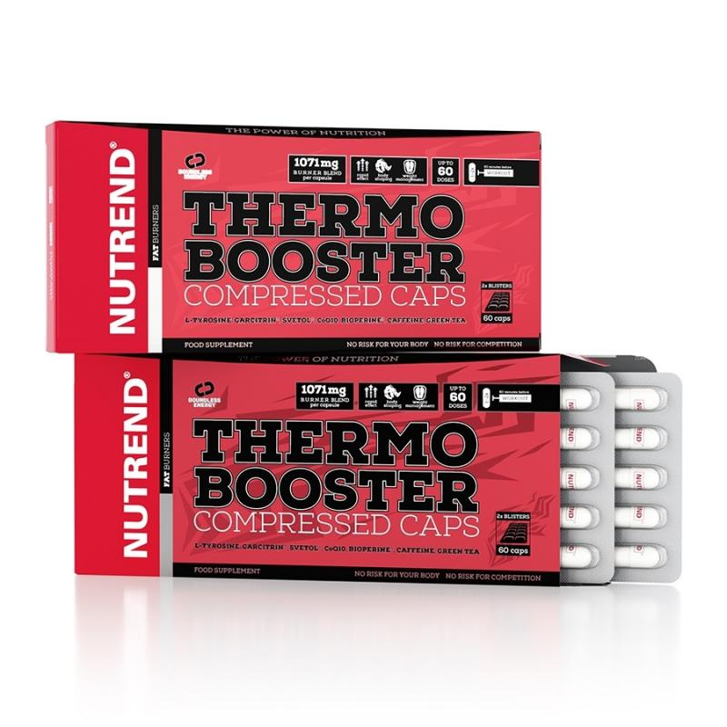 Nutrend Thermo Booster Compressed, 60 Kaps.