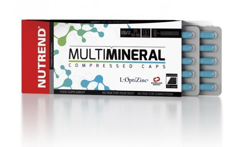 Nutrend Multimineral Compressed Caps, 60 Kaps.
