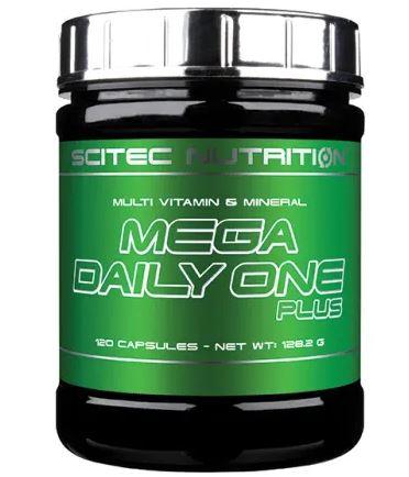 Scitec Nutrition Mega Daily One Plus, 120 Kaps.