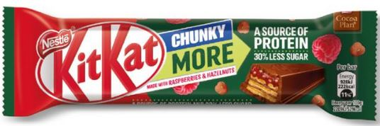 KitKat Chunky More, 1 Riegel, 42g - Raspberry Hazelnut