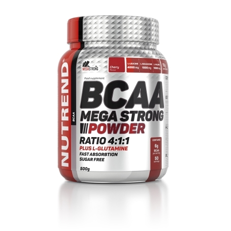 Nutrend BCAA Mega Strong Powder, 500g
